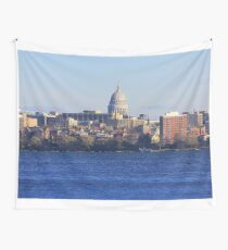 Madison Wisconsin Wall Tapestry