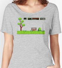 NES duck hunt dog game Women's Relaxed Fit T-Shirt
