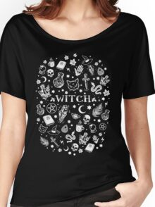WITCH PATTERN 2 Women's Relaxed Fit T-Shirt