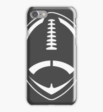 White Vector Football iPhone Case/Skin
