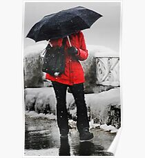 The Red Coat Poster