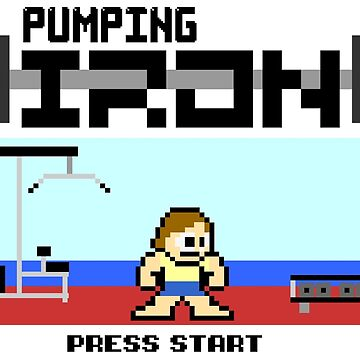 Pumping Iron Game by SquatRackCurler