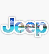 Jeep Ocean Logo Sticker