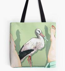 Doctor Stork Tote Bag