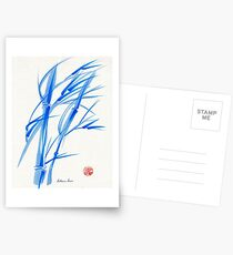 SOFT BREEZE - Original watercolor ink wash painting Postcards