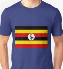 UGANDA (FLAG) Unisex T-Shirt