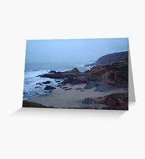 Far Away Beach Greeting Card