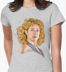 Professor River Song, The Doctor's Wife Womens Fitted T-Shirt