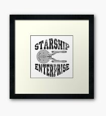 Star Trek - Enterprise NX-01 Logo Framed Print