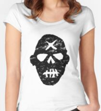 Gunners - distressed logo - Fallout 4 Women's Fitted Scoop T-Shirt