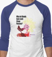 Cat Bath Men's Baseball ¾ T-Shirt
