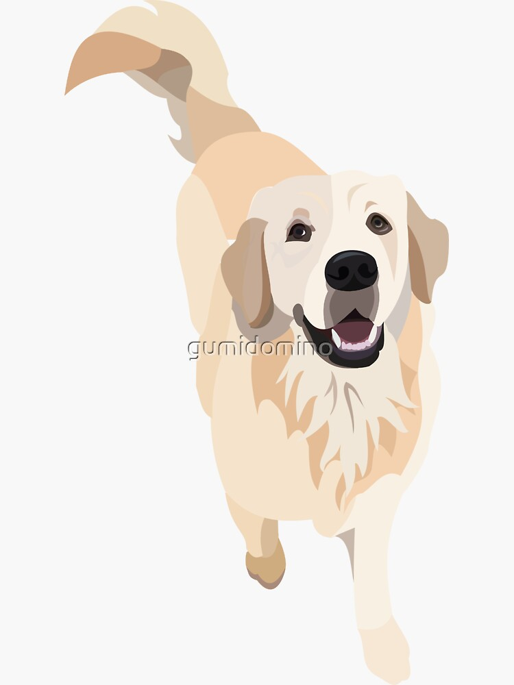 Golden Retriever Doggo by gumidomino
