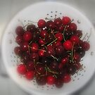 Life's a Collander of Cherries......with Stems and Pits© by walela