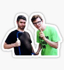 Idubbbz and Ethan Klein of h3h3 Sticker