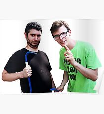 Idubbbz and Ethan Klein of h3h3 Poster