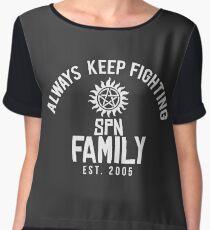 Always Keep Fighting (AKF) #2 Chiffon Top
