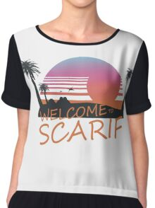 Welcome To Scarif Chiffon Top