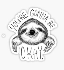 Slothspiration Sticker