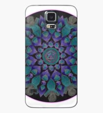 Healing With Angels and Violet Flame Mandala Case/Skin for Samsung Galaxy
