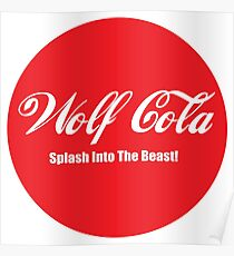 Wolf Cola Poster