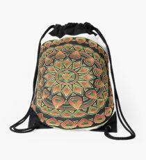 Earth Mandala Drawstring Bag