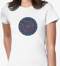 Happy Happy Joy Joy Mandala Women's Fitted T-Shirt