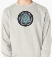 Pink Dolphin Flower of Life Mandala Pullover