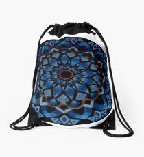 Breathing Mandala Drawstring Bag