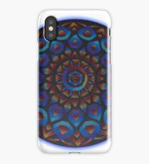 Rainbow Goddess of The Light Mandala iPhone Case
