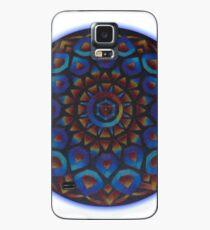 Rainbow Goddess of The Light Mandala Case/Skin for Samsung Galaxy