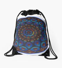 Rainbow Goddess of The Light Mandala Drawstring Bag