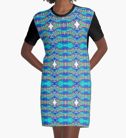 Wing Tips Graphic T-Shirt Dress