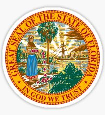 Florida State Seal Sticker