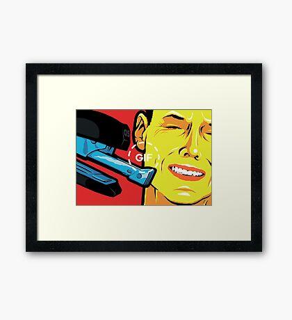 The Stapler Framed Print