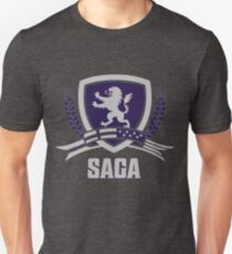 SAGA Official Merchandise BLACK T-Shirt