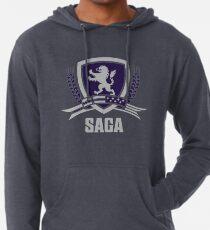 SAGA Official Merchandise SCHWARZ Leichter Hoodie