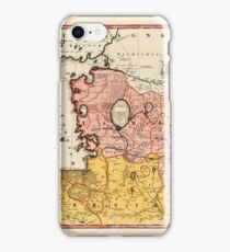 Map Of Iran 1735 iPhone Case/Skin