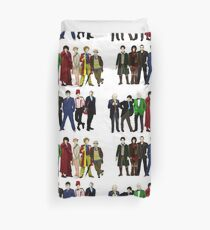 Doctor Who - The 13 Doctors Duvet Cover