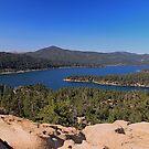 Big Bear Lake by Rosalee Lustig