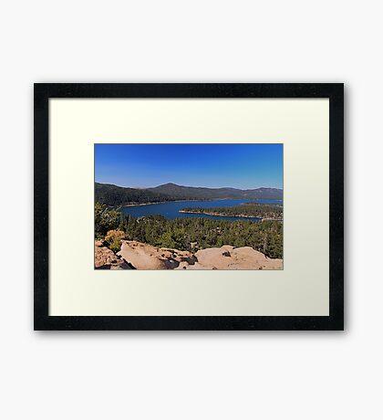 Big Bear Lake Framed Print
