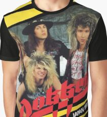 XIRUL06 DOKKEN Unleashed In The East Tour 2016 Graphic T-Shirt