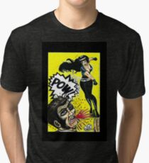 Bad Girls of Motion Pictures #3 (of 9)- Varla Tri-blend T-Shirt