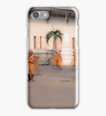 Thai monks iPhone Case/Skin