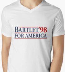 Bartlet For America Men's V-Neck T-Shirt