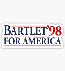 Bartlet für Amerika Sticker