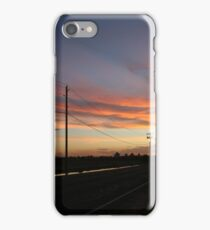 An empty expanse and sky iPhone Case/Skin