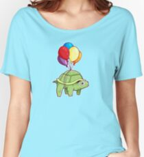 Turtle - Balloon Fun Women's Relaxed Fit T-Shirt
