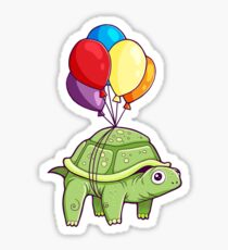 Turtle - Balloon Fun Sticker