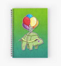 Cuaderno de espiral Tortuga - Diversión en globo
