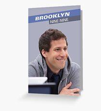 Brooklyn Nine-Nine: Jake Peralta Greeting Card